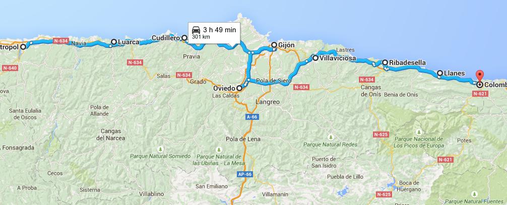 Ruta Asturias